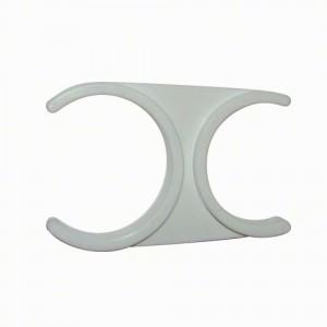 Collier clip 2''x2.5''